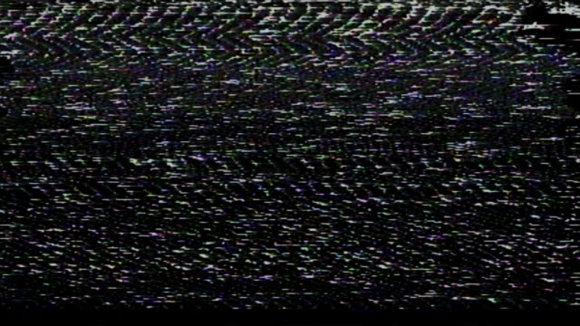 tv vhs effect abstract video