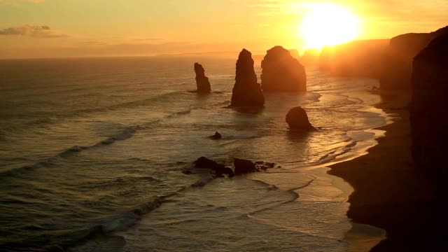 Twelve Apostles, Great Ocean road, Australia video