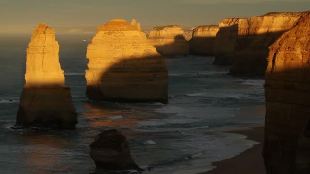 Twelve apostles Great Ocean Road HD Sunrise video
