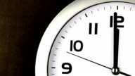 Twelve O'clock Clock - ticking clock video
