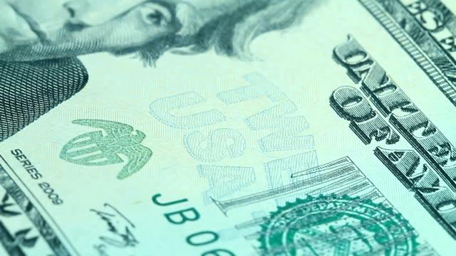 Twenty dollar bill video