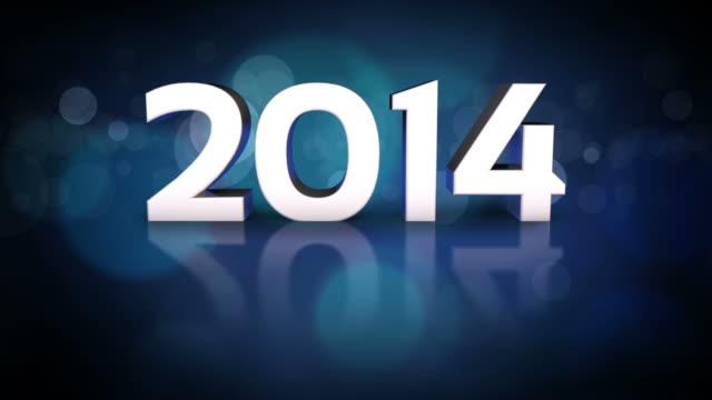 Twenty Fourteen New Year Flip video