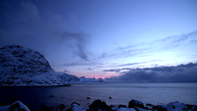 Twilight Above  Fjord video
