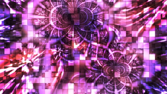 Twinkling Abstract Hi-Tech Light Patterns, Purple, Events video