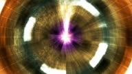 Twinkling Hi-Tech Grunge Light Tunnel 03 video
