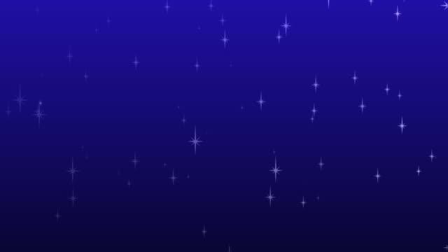 Twinkling Star Background HD video