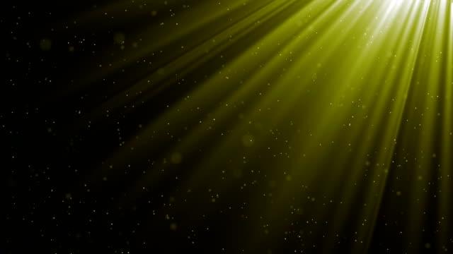 Twinkling sunlight streaks and dust video