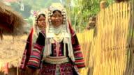 Two Akha Women video