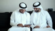 Two Arab Man Surfing The Net video