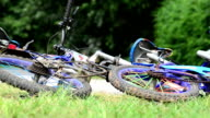 Two bicycles. video