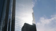 Two Clips of Sun Going Down In the Financial District video