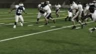 Deux défenseurs trucs running back - Vidéo