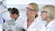 MS DS Two Female Scientists Working Together video