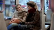 Two Friends in Tram video
