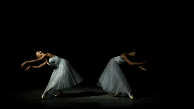 Two Girls Dancing Ballet video