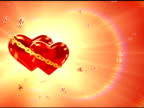 Two hearts in love - left side (loop, NTSC) video