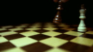 Two kings chasing each other on a chess board video