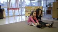 Two Little Girls as Best Friends video