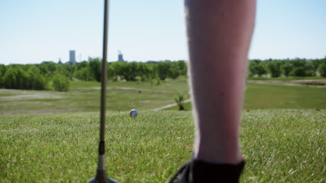 Two Men Golf Together video