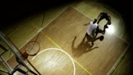 Two Players Practicing Basketball video
