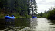 Two rafting groups video