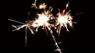 Two Sparklers video