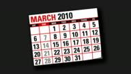 two thousand and ten calendar video