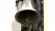 Two videos of church bells in real slow motion video