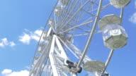 Two videos of ferris wheel in 4K video