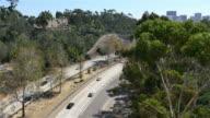 Two videos of highway in 4K video