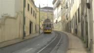 Two videos of tram in 4K video