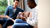 MS PAN Two young men playing cards video