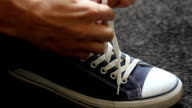 Tying Shoes video