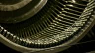 Typewriter Key Strokes (HD) video