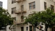 Typical Manhattan-Style Apartment Building Establishing Shot video