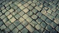Typical Sanpietrino Roman Road Panning Video video