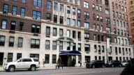 Typical Upscale Apartment Building in Upper Manhattan video