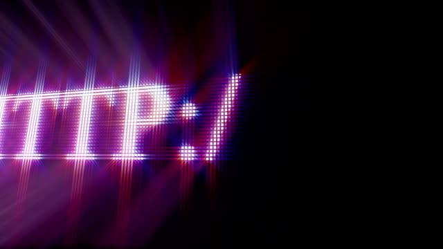 typing website adress video
