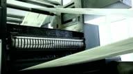 typography, printing newspapers video
