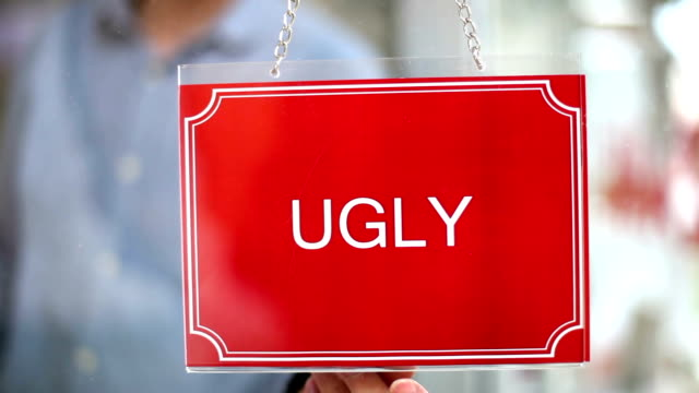 Ugly - Beautiful Sign video