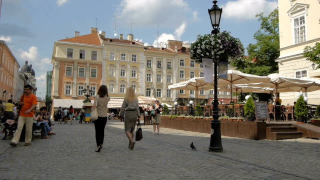 Ukraine, L'viv city .Timelapse. May 28, 2014 video