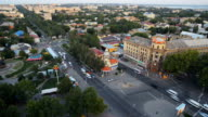 Ukraine Mykolaiv city. Time Lapse video