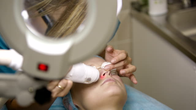 Ultrasonic and laser face treatment video