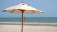 Umbrella beach video