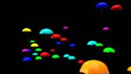 Umbrellas - 3D Animation video