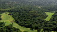 Umdoni Golf Course And Lynton Hall  - Aerial View - KwaZulu-Natal,  Ugu District Municipality,  Umdoni,  South Africa video