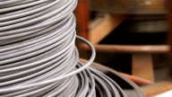 Uncoiling Steel Rod video