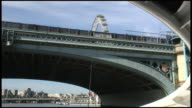 (HD1080i) Under A London Bridge - From River Thames video