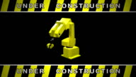 Under Construction Video HD 1080i Loopable video