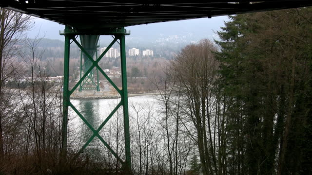 Under the bridge. video
